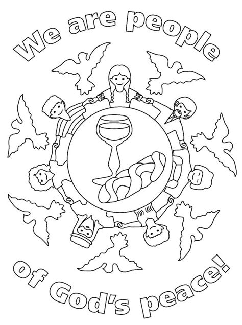 free coloring pages of mandala peace