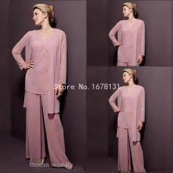 blush pink chffion plus size mother of the bride pant