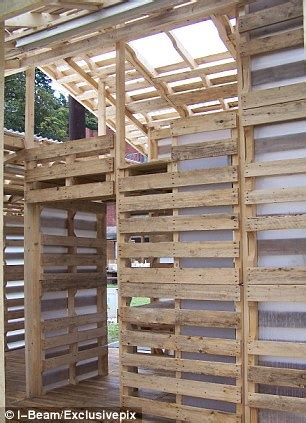 Barn Made Into A House The Homes Made From Discarded Pallets That Could House The