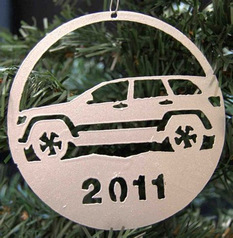 jeep cherokee christmas ornament all things jeep 2011 holiday ornament jeep grand cherokee