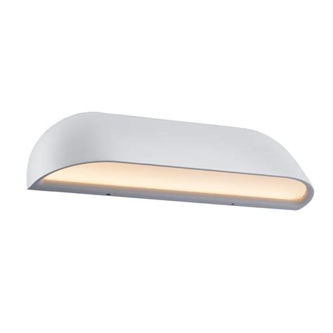 contemporary led outdoor wall washer light  white