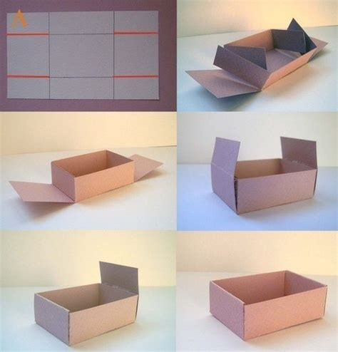 How To Make A Box Out Of Wrapping Paper - best 25 diy box ideas on paper boxes diy