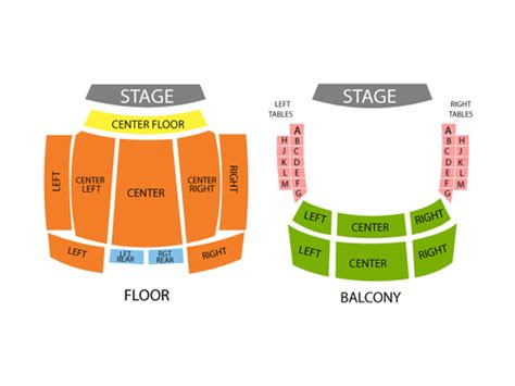 rock live seating map viptix rock live orlando tickets
