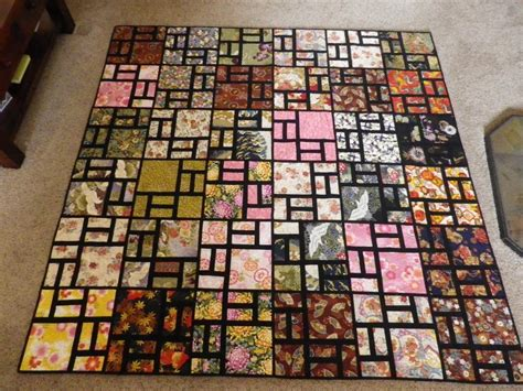 Free Japanese Quilt Patterns by You To See Scrappy Road Quilt On Craftsy