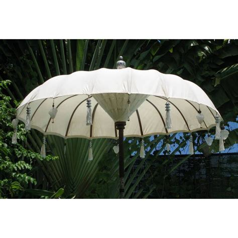 Handmade Umbrellas Uk - umb 1001 handmade balinese umbrella