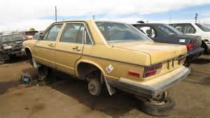 junkyard find 1979 audi 5000