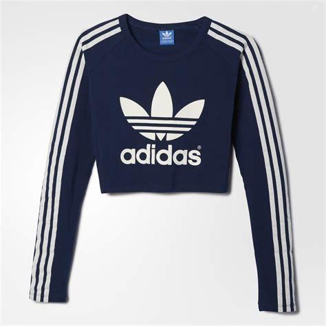 Adidas paris crop tee blue adidas us from adidas