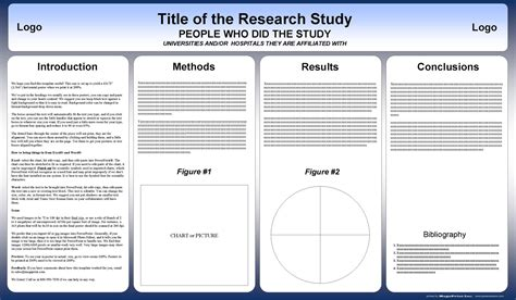 Free Powerpoint Scientific Research Poster Templates For Printing 36x24 Poster Template