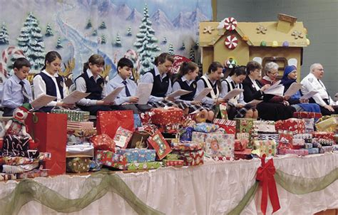 dyker heights school spreads christmas spirit our lady
