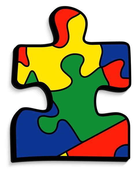 free printable autism puzzle piece autism awareness sd scan and share