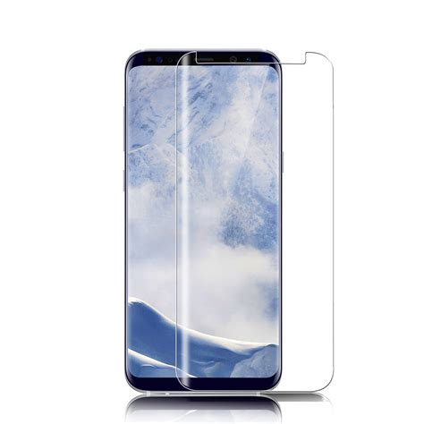Samsung S9 Limited Cover Anti Gores Screen Protector wholesale samsung galaxy s9 tempered glass 3d 9h shockproof screen protector clear mkc 34797