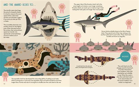 smart about sharks smart about sharks a great new children s book from illustrator owen davey creative review