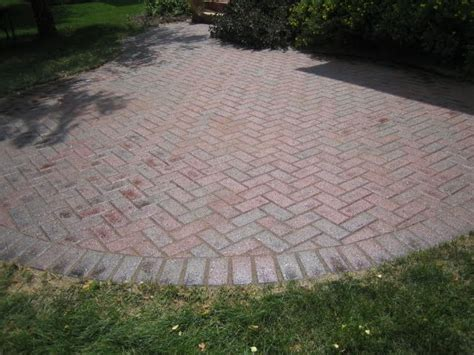 Sealer For Patio Pavers Brick Pavers Canton Plymouth Northville Arbor Patio Patios Repair Sealing