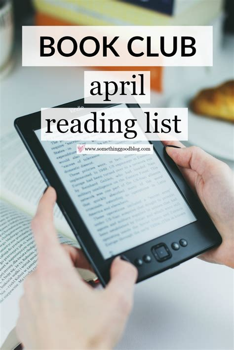The Sunday Book Club by Sunday Book Club April 2017 Reading List Something