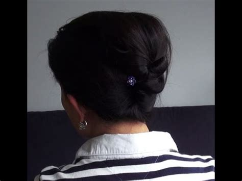 tutorial sanggul modern youtube hairstyle tutorial how to make double buns twists cara