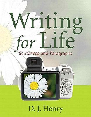 writing for life: sentences and paragraphs (with