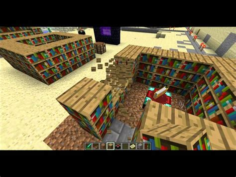 minecraft enchanting best bookshelf layout possible