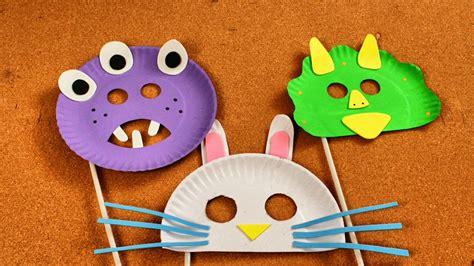 como hacer mascaras de pollitos con platos de papel c 243 mo hacer m 225 scaras para ni 241 os con platos desechables