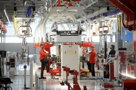 Tesla Silicon Valley Tesla Motors Factory Revealed Silicon Valley Meets