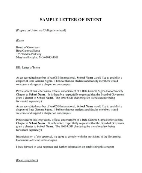 New Charter Mba by Letter Of Intent For Graduate School Graduate School