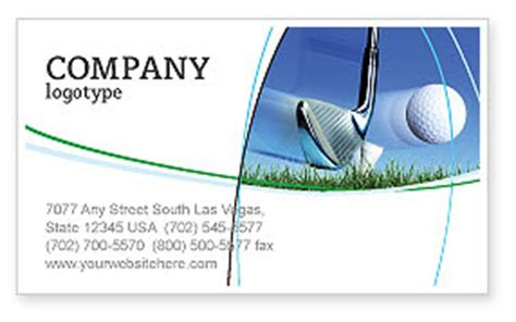 golf membership card template slight bump in golf business card template layout