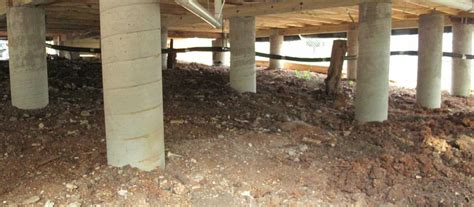 post and pier foundation house pier and beam foundation image gallery pier foundations