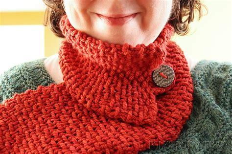 loom knit cowl neck scarf sch 246 ner schal zum stricken mit dem strickring anleitung