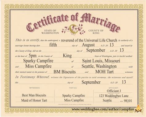 Marriage Records For Missouri Marriage Certificate Template Birth Certificate Template
