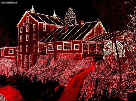 buildings city christmasat clifton mill ohio picture