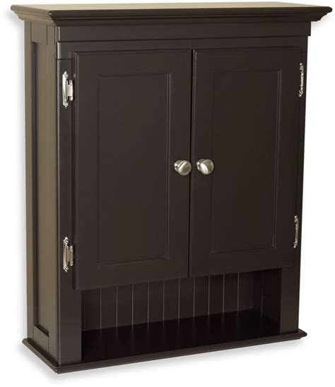 Bed Bath And Beyond Bathroom Cabinet Bed Bath Beyond Fairmont Wall Mounted Cabinet In Espresso Shopstyle