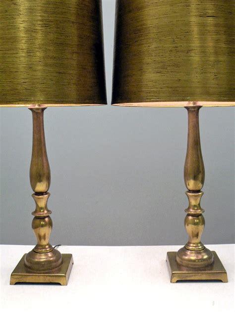 brass buffet table ls pair brass table ls minimal elegant hollywood regency