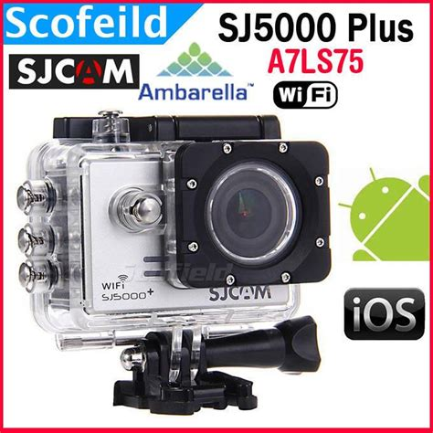 Sjcam Sj5000 Plus Ambarella original sjcam sj5000 plus ambarella a7ls75 14mp for gopro sj4000 1080p 60fps wifi