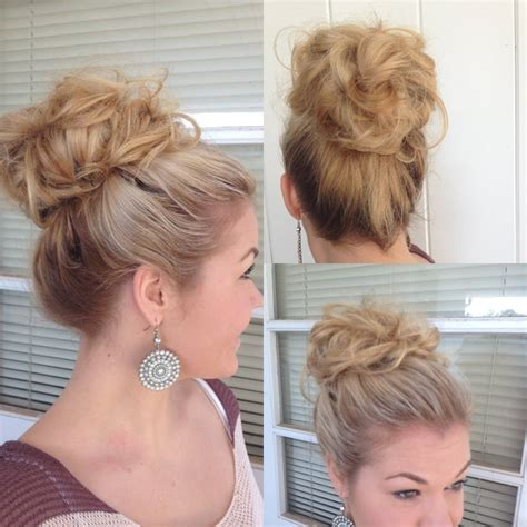 hair styles using a donut 20 best wedding hairstyles for short hair