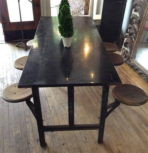 swing table l antique industrial cast iron dining table with swing out