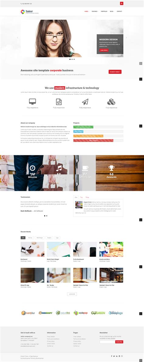 bootstrap themes best sailor bootstrap demo best themes templatedrive