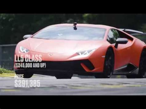huracan performante nearly crashes at c&d lighting lap