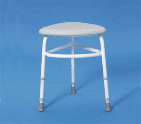 Bathroom Shower Stools Comfortable Cushioned Padded Corner Shower Stool Bath Seat Ebay