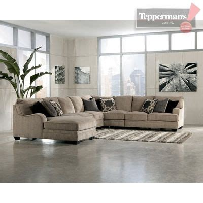 teppermans sectionals the katisha 5 pc sectional as featured at http www
