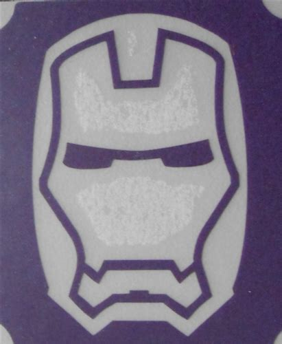 36x48 3 layer stencil of iron man 3 layer stencil
