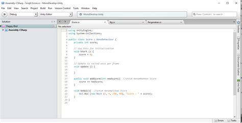 tutorial membuat script imacros rct tutorial membuat flappy bird dengan unity part 2 2