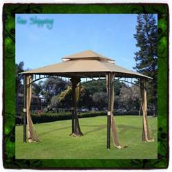 10x10 Deck Gazebo 10 X 10 Gazebo Metal Steel Roof Outdoor Patio Pergola
