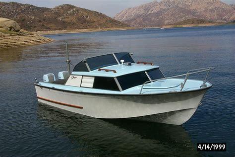 day cabin boats 1959 glasspar seafair sedan power boat for sale www