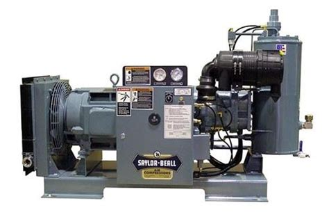 new saylor beall 50 hp 166 cfm rotary air compressors ebay
