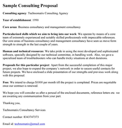 consultant offer letter template sle consulting template images