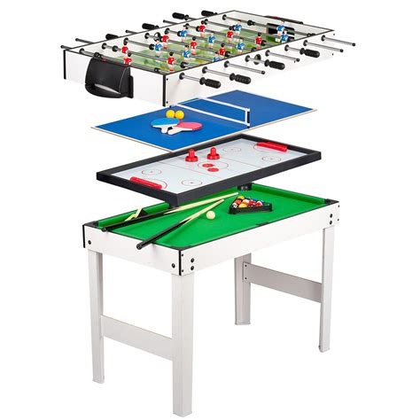 4 in 1 table pool hockey ping pong