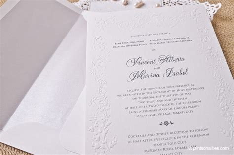 wedding invitation card price philippines wedding invitation printsonalities your personal