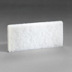 doodlebug handblock 3m doodlebug white cleaning pad 8440 4 6 in x 10 in 5