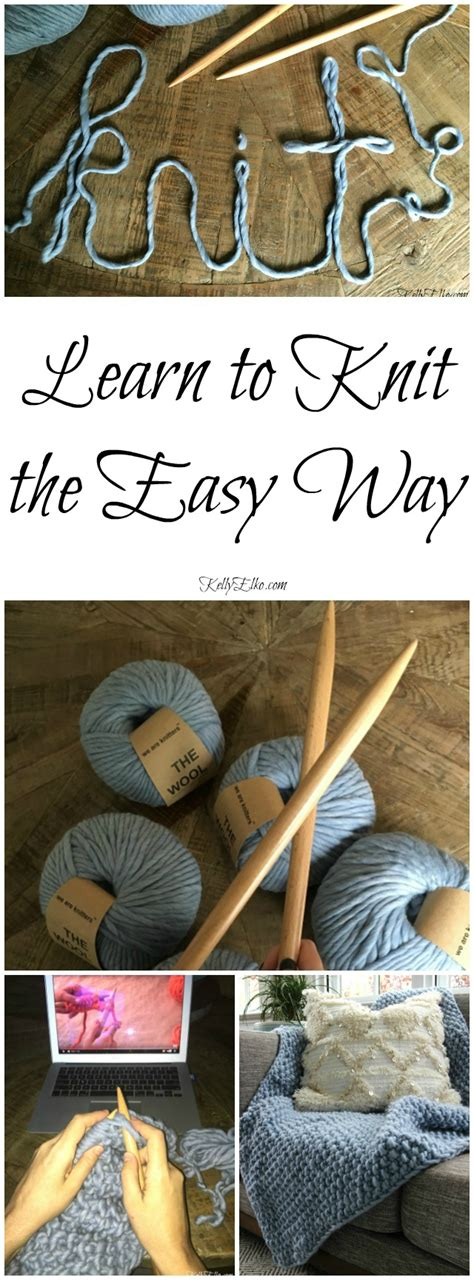 Learn To Knit As We Move Into The Season Of Chunky Cardigans And Sweaters by So You Think You Can T Knit And How I Learned Elko