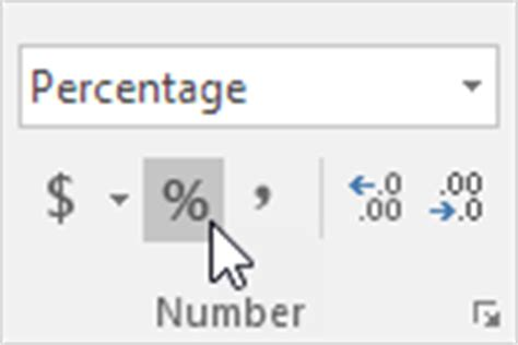 format excel percentage percent change formula in excel easy excel tutorial