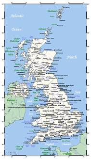Detailed Map Of England by Goseekit Image Map Of United Kingdom With Cities